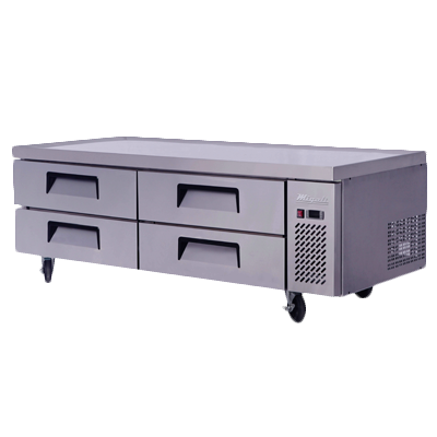 Migali C-CB72-HC Competitor Series® Two-Section Refrigerated Equipment Stand/Chef Base, 115v/60/1-ph