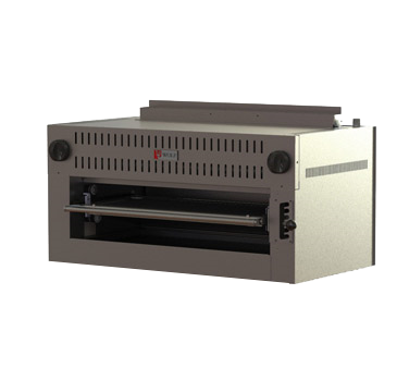"Wolf C36RB Salamander Broiler, Gas, 36"" wide, 50,000 BTU heavy duty burner, (6) grid positions, stainless steel front, top and sides"