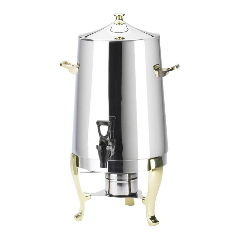 Cal-Mil 1009 Stainless Steel Coffee Urn - Flame Heated