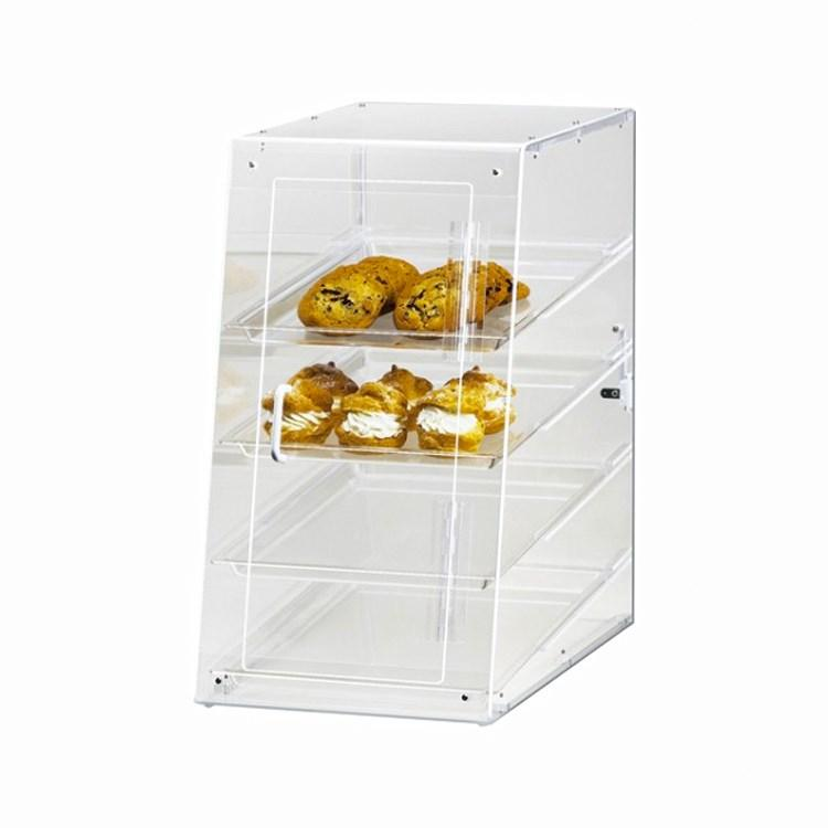 Cal-Mil 1012-S Classic 4-Tier U-Build Display Case, Self-Serve, Clear Acrylic