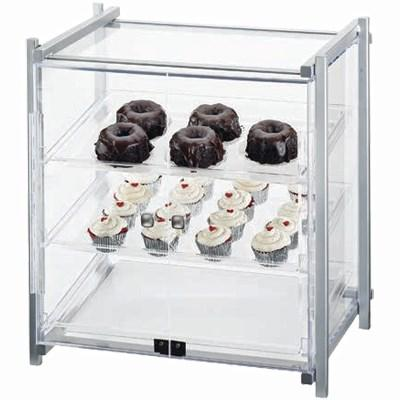 Cal-Mil 1145-S-74 Display Case - Self-Service, See-Thru, Silver