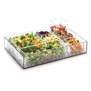 Cal-Mil 1391-12 Cater Choice Box - Acrylic, Clear
