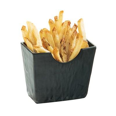 "Cal-Mil 3441-65M 4.5"" X 2.5"" Faux Slate French Fry Holder, Melamine"