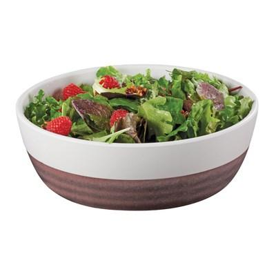 Cal-Mil 3471-9 40 Oz. Two-Tone Melamine Stoneware Large Bowl