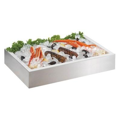 Cal-Mil 4120-TRAY Insulated Metal Tray For 2-Tier Ice Housing Display