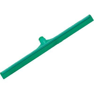 "Carlisle 3656709 Sparta 20"" Green Single Blade Rubber Squeegee with Plastic Frame"