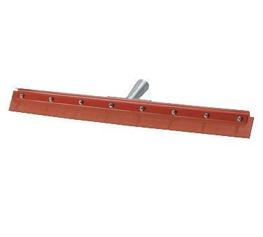 "Carlisle 4007500 18"" Floor Squeegee, Red Gum Rubber, No Handle"