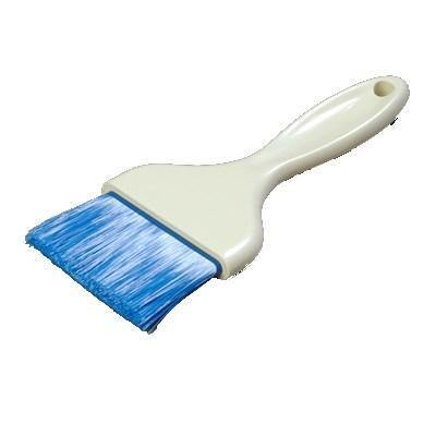 "Carlisle 4039214 3""W Pastry Brush - Nylon/Plastic, Blue"