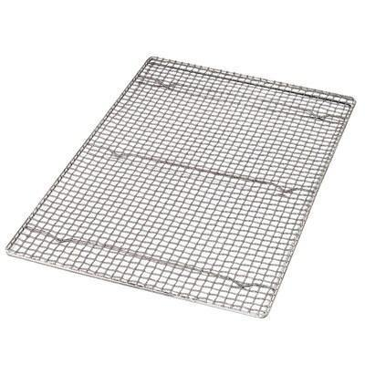 "Carlisle 601647 Icing Grate For Full Size Sheet Pan, 24"" X 16"", Chome Plated"