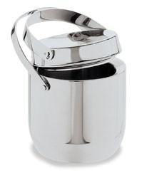 Carlisle 609190 1-1/2 Qt Ice Bucket with Hinged Lid, Stainless