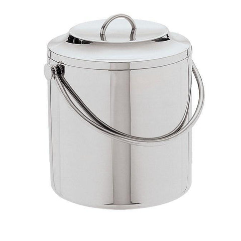 Carlisle 609193 3-1/2 Qt Ice Bucket with Lift Off Lid, Stainless