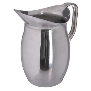 Carlisle 609270 2 Qt Bell Pitcher, Stainless