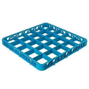 Carlisle RE2514 Opticlean 25 Compartments Blue Glass Rack Extender
