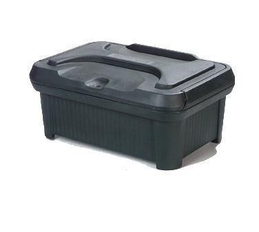 Carlisle XT160008 Food Pan Carrier with Sliding Lid - 18 Quart (Insulated, Top-Loader), Forest Green