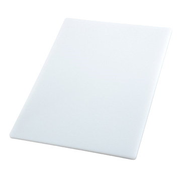 "Winco CBWT-1520 15"" x 20"" White Cutting Board"