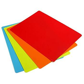 "CCI CBC1824-4 Chop & Chop flexible cutting board color-coded 18"" x 24"""