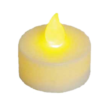 "Winco CL-L Flameless Tealight Candle, 1-1/2"" x 1-1/2"", battery included (can be used with CLG-3R; CLG-3Y; CLG-3G)"