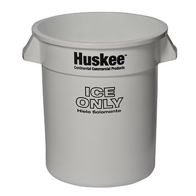 Continental 1001-ICE Huskee Ice Bucket, 10 Gal. Cap. - White