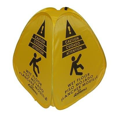 Continental 216 Pop Up Safety Sign, Yellow