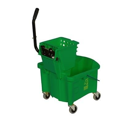 Continental 226-312GN 26 Qt. Splash Guard Side-Press Combo Pack, Green