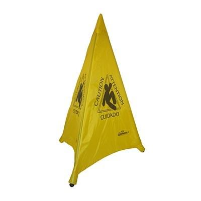 "Continental 230-12  Collapsible ""CAUTION"" Tri-Cone, 30"", Yellow"