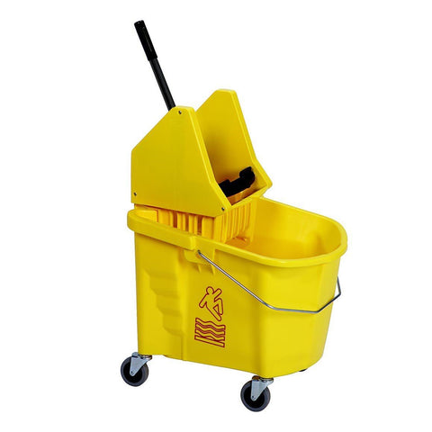 Continental 335-37YW 35 Qt. Splash Guard Down-Press Combo Pack Yellow