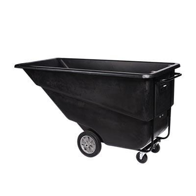 Continental 5833BK Tilt Truck / Trash Cart (800 Lb. Capacity)