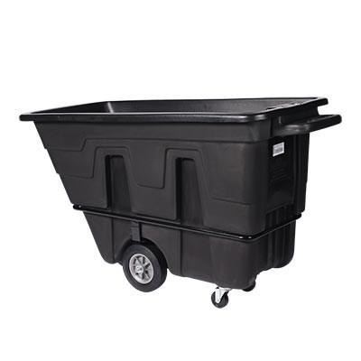 Continental 5840BK Tilt Truck / Trash Cart (750 Lb. Capacity)