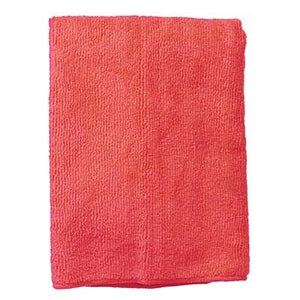 Continental E721016 Standard Microfiber Cloth - Polyester/Polyamide, Red, Bulk Pack