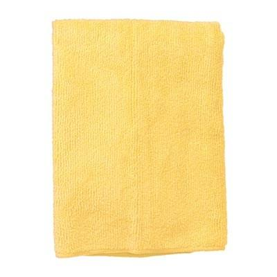 Continental E731016 Standard Microfiber Cloth Yellow, Bulk Pack