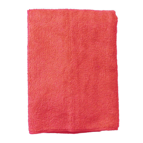 Continental E821016 Supremo Microfiber Cloth, Polyester/Polyamide - Red (Bulk Pack)