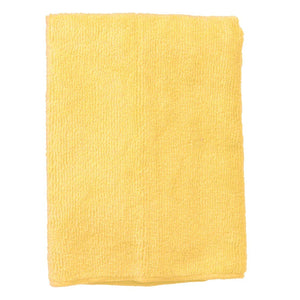 Continental E831016 Supremo Microfiber Cloth, Polyester/Polyamide - Yellow (Bulk Pack)