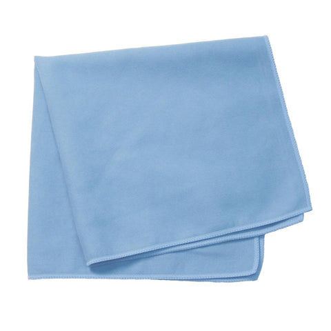 Continental E851016 Glassic Smooth Surface Cloth, Microfiber - Light Blue (Bulk Pack)