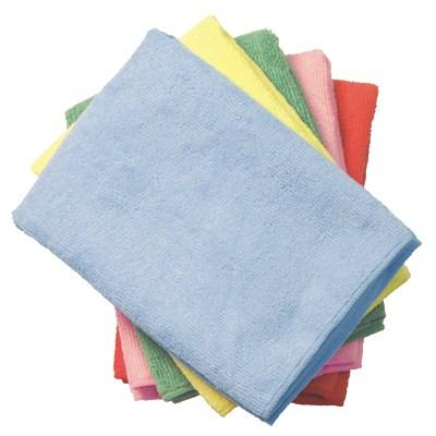 Continental E871016 Supremo Microfiber Cloth - Light Blue (Bulk Pack)