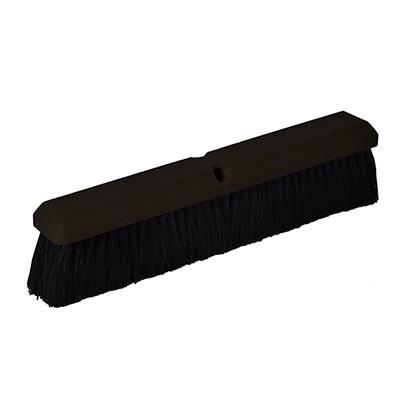 "Continental F006124 Black Tampico Floor Sweep 24"" Foam Block"