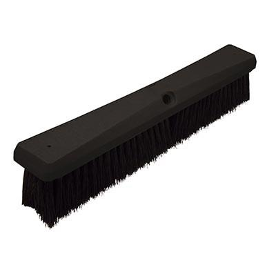 "Continental F007124 Black Polypropylene Floor Sweep 24"" Foam Block"