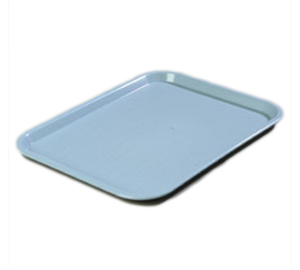 "Carlisle CT121659 Café Tray, 16-5/16""L x 12""W, rectangular, drying/stacking lugs, skid and scratch resistant, polypropylene, slate blue, NSF"