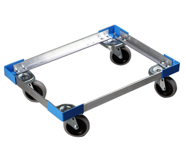 Carlisle DL30023 Cateraide™ Open-Frame Dolly, Aluminum, NSF