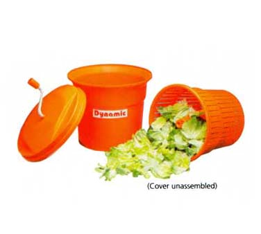 Dynamic USA E002 Salad Spinner, manual, 5 gallon capacity, dries up to 6-8 heads of lettuce