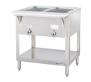 "Duke E302SW Aerohot Electric Hot Food Station (with Two 12"" x 20"" Sealed Hot Food Wells)"