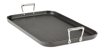 "All-Clad, E7954164, HA1, Hard Anodized Nonstick 13"" x 20"" Grande Grill"