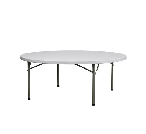 DHC EB-R Round Plastic Table For Banquet Use