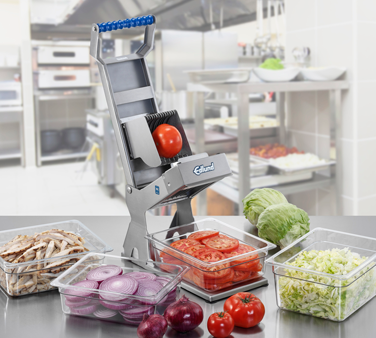 "Edlund ARC! XL-125 Fruit and Vegetable Slicer, manual, 1/4"" blades, stainless steel construction, dishwasher safe, NSF, Made in USA"