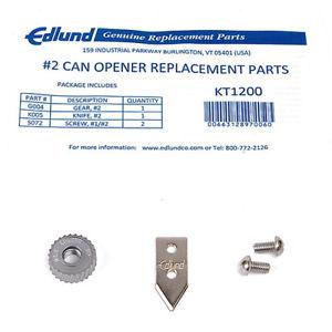 Edlund KT1200 #2™ Replacement Parts Kit