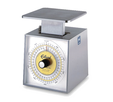 Edlund SR-2200C Scale, Portion, Dial Type, dishwasher safe, top loading counter model, NSF certified, made in USA