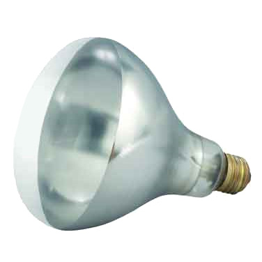 Winco EHL-BW Heat Lamp Bulb, for EHL-2, 250 watt, clear