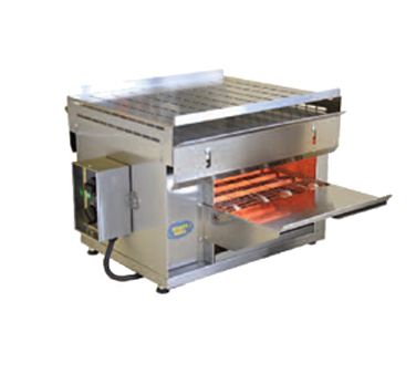 "Equipex CT3000 Sodir-Roller Grill Conveyor Sandwich Toaster, 2-3/8"" opening, 12"" wide conveyor belt, quartz infrared heat, UL cULus"