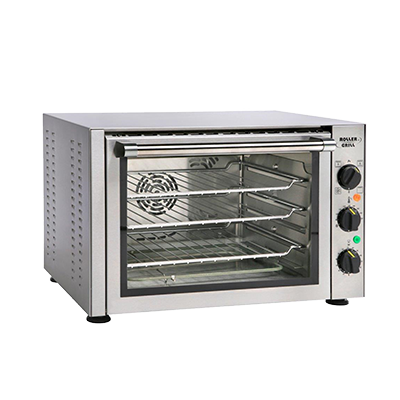 Equipex FC33/1 Sodir-Roller Grill Convection Oven/Broiler, electric countertop single-deck 450°F, 120v/60/1-ph 150 amps 17 kW NEMA 5-15P cULus Classified NSF