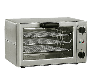 Equipex FC34 Sodir-Roller Grill Convection Oven, electric countertop, single-deck, 208/240v/60/1-ph 130/150 amps 30 kW NEMA 6-15P cULus Classified NSF 4