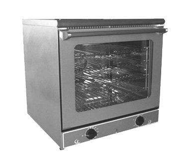 Equipex FC60/1 Sodir Ariel Convection Oven, electric compact single-deck 570°F, 120v/60/1-ph 140 amps 17 kW NEMA 5-15P cULus Classified NSF